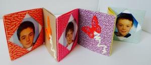 Micro-album origami